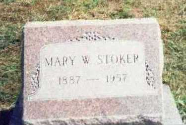 STOKER, MARY W. - Pottawattamie County, Iowa | MARY W. STOKER