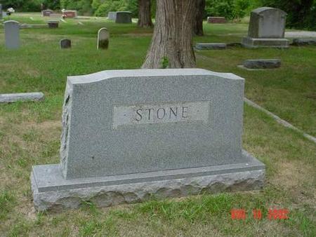 STONE, NANNIE ELLEN & OSCAR DELOIS [BACK] - Pottawattamie County, Iowa | NANNIE ELLEN & OSCAR DELOIS [BACK] STONE