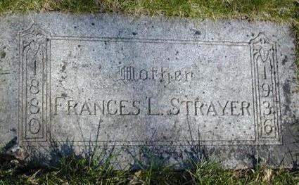 STRAYER, FRANCES LOUISE - Pottawattamie County, Iowa | FRANCES LOUISE STRAYER