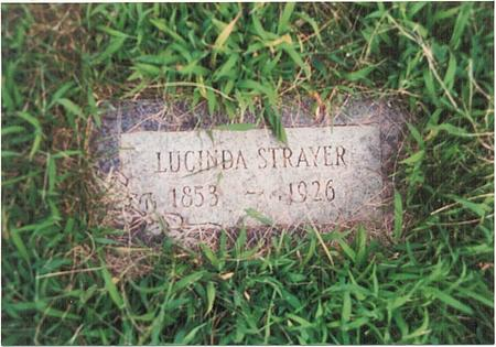 STRAYER, LUCINDA - Pottawattamie County, Iowa | LUCINDA STRAYER
