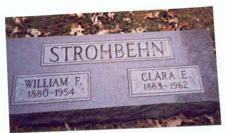 STROHBEHN, WILLIAM F. - Pottawattamie County, Iowa | WILLIAM F. STROHBEHN