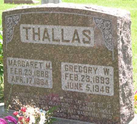 THALLAS, MARGARET M. - Pottawattamie County, Iowa | MARGARET M. THALLAS