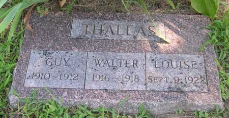 THALLAS, LOUISE - Pottawattamie County, Iowa | LOUISE THALLAS