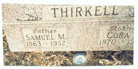 THIRKELL, SAMUEL M. - Pottawattamie County, Iowa | SAMUEL M. THIRKELL