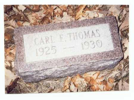 THOMAS, CARL E. - Pottawattamie County, Iowa | CARL E. THOMAS