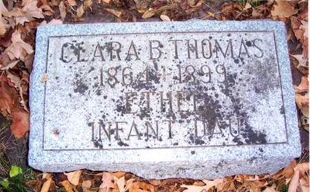 THOMAS, CLARA - Pottawattamie County, Iowa | CLARA THOMAS