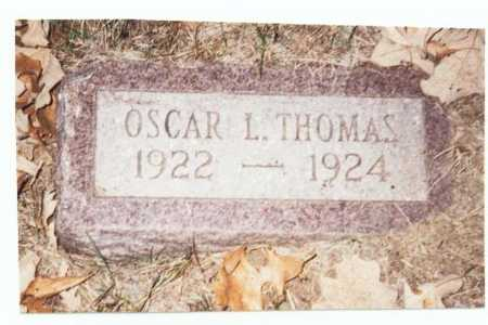 THOMAS, OSCAR L. - Pottawattamie County, Iowa | OSCAR L. THOMAS