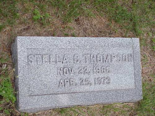 THOMPSON, STELLA C. - Pottawattamie County, Iowa | STELLA C. THOMPSON