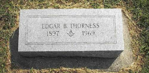 THORNESS, EDGAR B. - Pottawattamie County, Iowa | EDGAR B. THORNESS