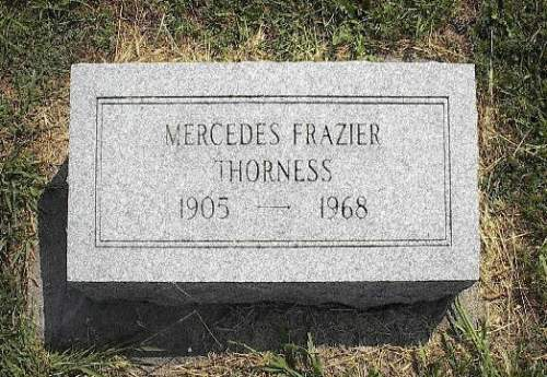 THORNESS, MERCEDES FRAZIER - Pottawattamie County, Iowa | MERCEDES FRAZIER THORNESS