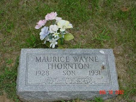 THORNTON, MAURICE WAYNE - Pottawattamie County, Iowa | MAURICE WAYNE THORNTON