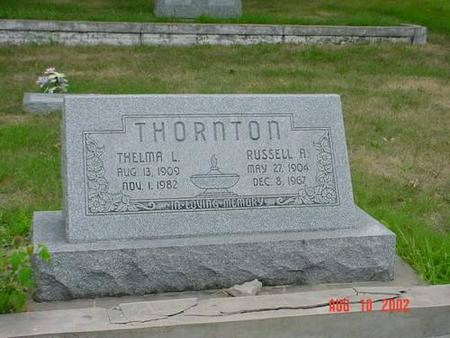 THORNTON, THELMA L. & RUSSELL A. - Pottawattamie County, Iowa | THELMA L. & RUSSELL A. THORNTON