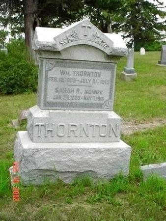 THORNTON, WILLIAM & SARAH R. - Pottawattamie County, Iowa | WILLIAM & SARAH R. THORNTON