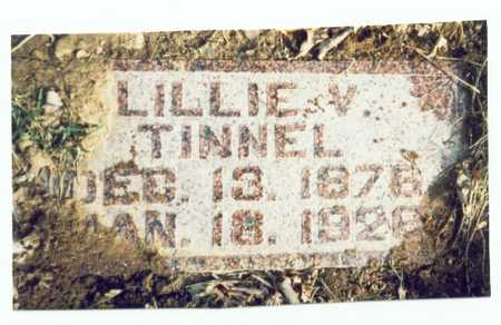 TINNEL, LILLIE VIOLA - Pottawattamie County, Iowa | LILLIE VIOLA TINNEL