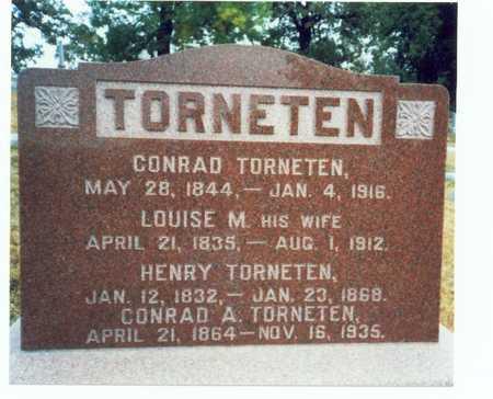 TORNETEN, CONRAD A. - Pottawattamie County, Iowa | CONRAD A. TORNETEN