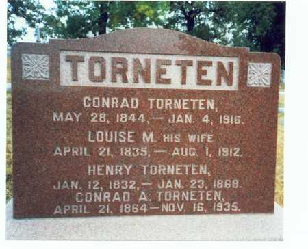 TORNETEN, CONRAD - Pottawattamie County, Iowa | CONRAD TORNETEN