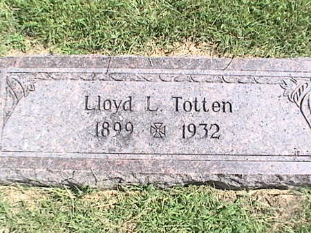 TOTTEN, LLOYD LUTHER - Pottawattamie County, Iowa | LLOYD LUTHER TOTTEN