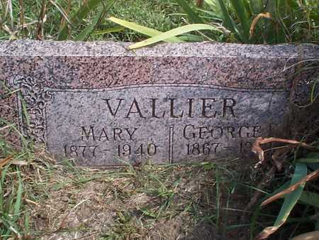 VALLIER, GEORGE - Pottawattamie County, Iowa | GEORGE VALLIER
