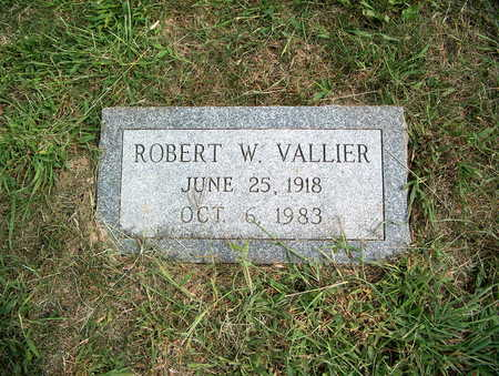 VALLIER, ROBERT W. - Pottawattamie County, Iowa | ROBERT W. VALLIER