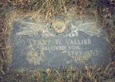 VALLIER, TERRY W. - Pottawattamie County, Iowa | TERRY W. VALLIER