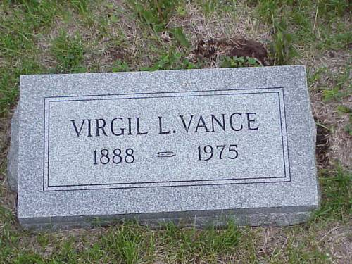 VANCE, VIRGIL L. - Pottawattamie County, Iowa | VIRGIL L. VANCE