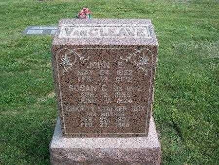 VANCLEAVE, JOHN B. - Pottawattamie County, Iowa | JOHN B. VANCLEAVE