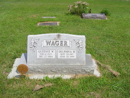 WAGER, GUSTAVE - Pottawattamie County, Iowa | GUSTAVE WAGER