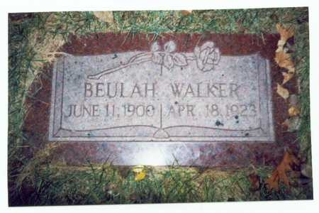 WALKER, BEULAH - Pottawattamie County, Iowa | BEULAH WALKER