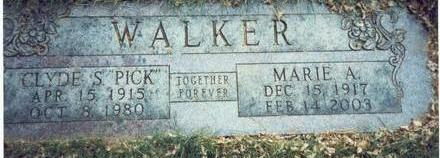 WALKER, CLYDE S.