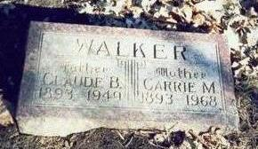 WALKER, CLAUDE BERT - Pottawattamie County, Iowa | CLAUDE BERT WALKER