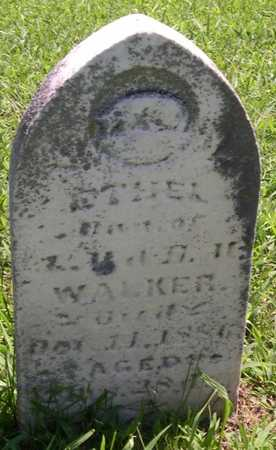 WALKER, ETHEL - Pottawattamie County, Iowa | ETHEL WALKER