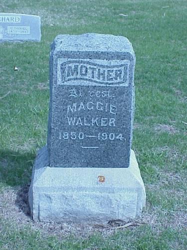 WALKER, MAGGIE - Pottawattamie County, Iowa | MAGGIE WALKER