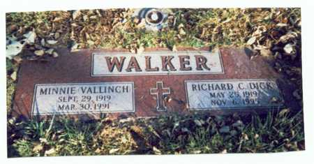 VALLINCH WALKER, MINNIE - Pottawattamie County, Iowa | MINNIE VALLINCH WALKER