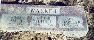WALKER, EDITH IDA - Pottawattamie County, Iowa | EDITH IDA WALKER