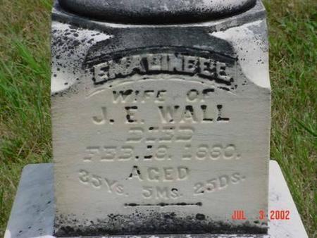 WALL, EMALINE E. E. - Pottawattamie County, Iowa | EMALINE E. E. WALL