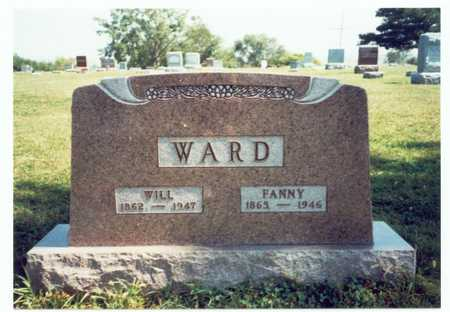 WARD, FANNY - Pottawattamie County, Iowa | FANNY WARD