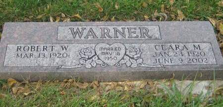 WARNER, CLARA M. - Pottawattamie County, Iowa | CLARA M. WARNER