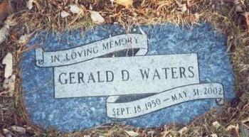 WATERS, GERALD D - Pottawattamie County, Iowa   GERALD D WATERS