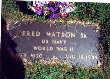 WATSON, FRED SR. - Pottawattamie County, Iowa | FRED SR. WATSON