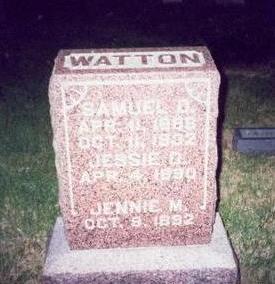 WATTON, SAMUEL D. - Pottawattamie County, Iowa   SAMUEL D. WATTON