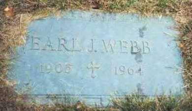 WEBB, EARL J. - Pottawattamie County, Iowa | EARL J. WEBB