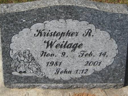 WEILAGE, KRISTOPHER R. - Pottawattamie County, Iowa   KRISTOPHER R. WEILAGE