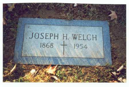 WELCH, JOSEPH H. - Pottawattamie County, Iowa | JOSEPH H. WELCH