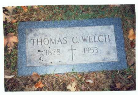 WELCH, THOMAS C. - Pottawattamie County, Iowa | THOMAS C. WELCH
