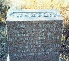 WESTON, GEORGE - Pottawattamie County, Iowa | GEORGE WESTON