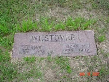 WESTOVER, ELEANOR & JOHN M. - Pottawattamie County, Iowa | ELEANOR & JOHN M. WESTOVER