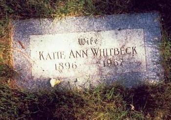 WHITBECK, KATIE ANN - Pottawattamie County, Iowa | KATIE ANN WHITBECK