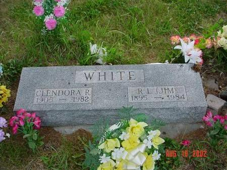 WHITE, CLENDORA R. &  R. L. [JIM] - Pottawattamie County, Iowa | CLENDORA R. &  R. L. [JIM] WHITE
