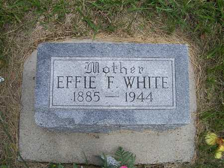 WHITE, EFFIE F. - Pottawattamie County, Iowa | EFFIE F. WHITE