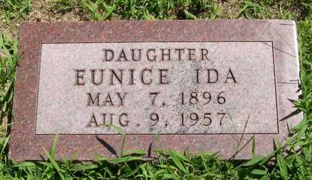 WHITE, EUNICE IDA - Pottawattamie County, Iowa | EUNICE IDA WHITE